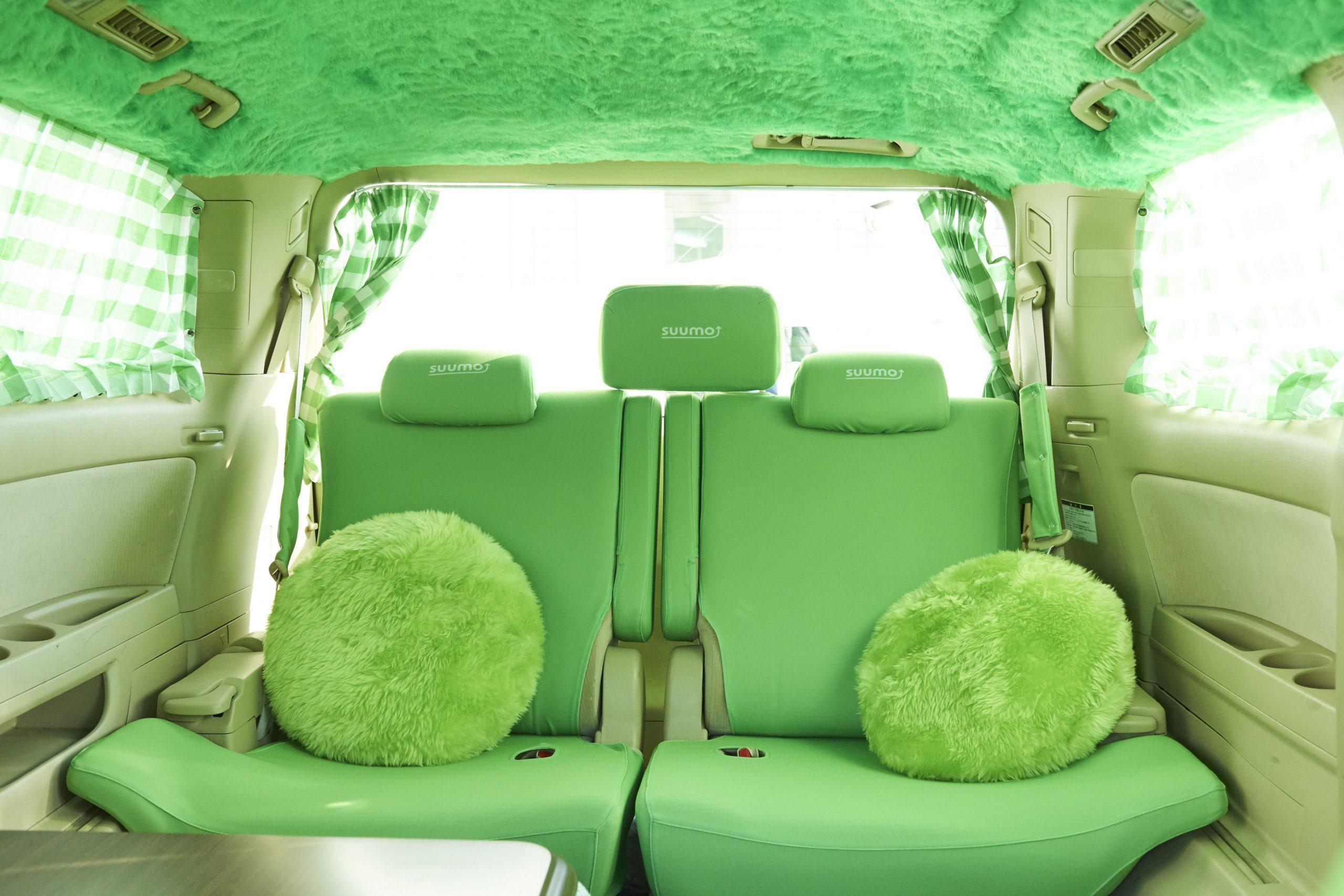 スーモタクシー後部座席内装