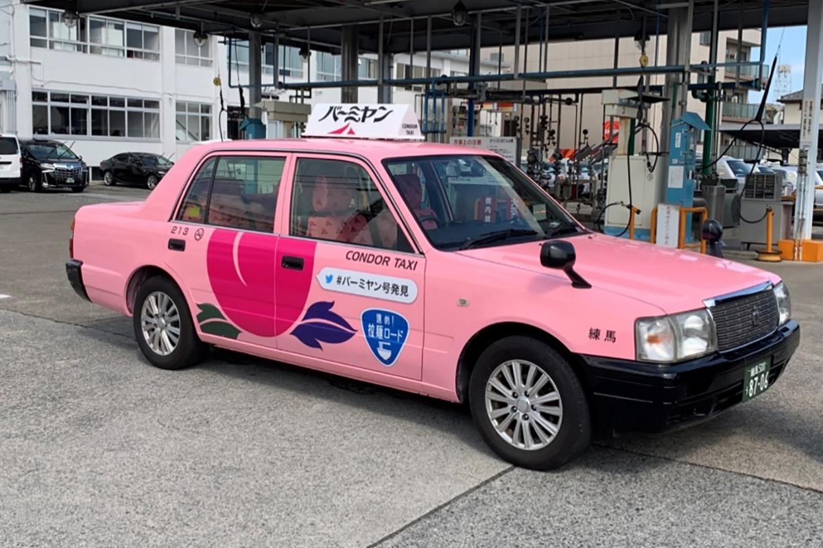 バーミヤンタクシー運転席側